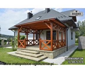 Stolarstwo Budowlane - taras, pergola, altana, garaż drewniany, carport...