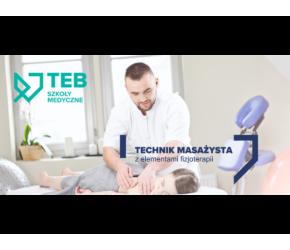 Technik masażysta z elementami fizjoterapii